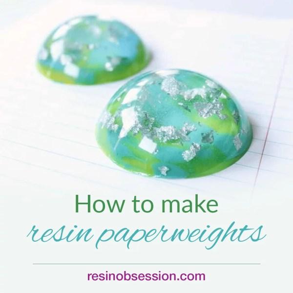 instagram resin paperweight tutorial
