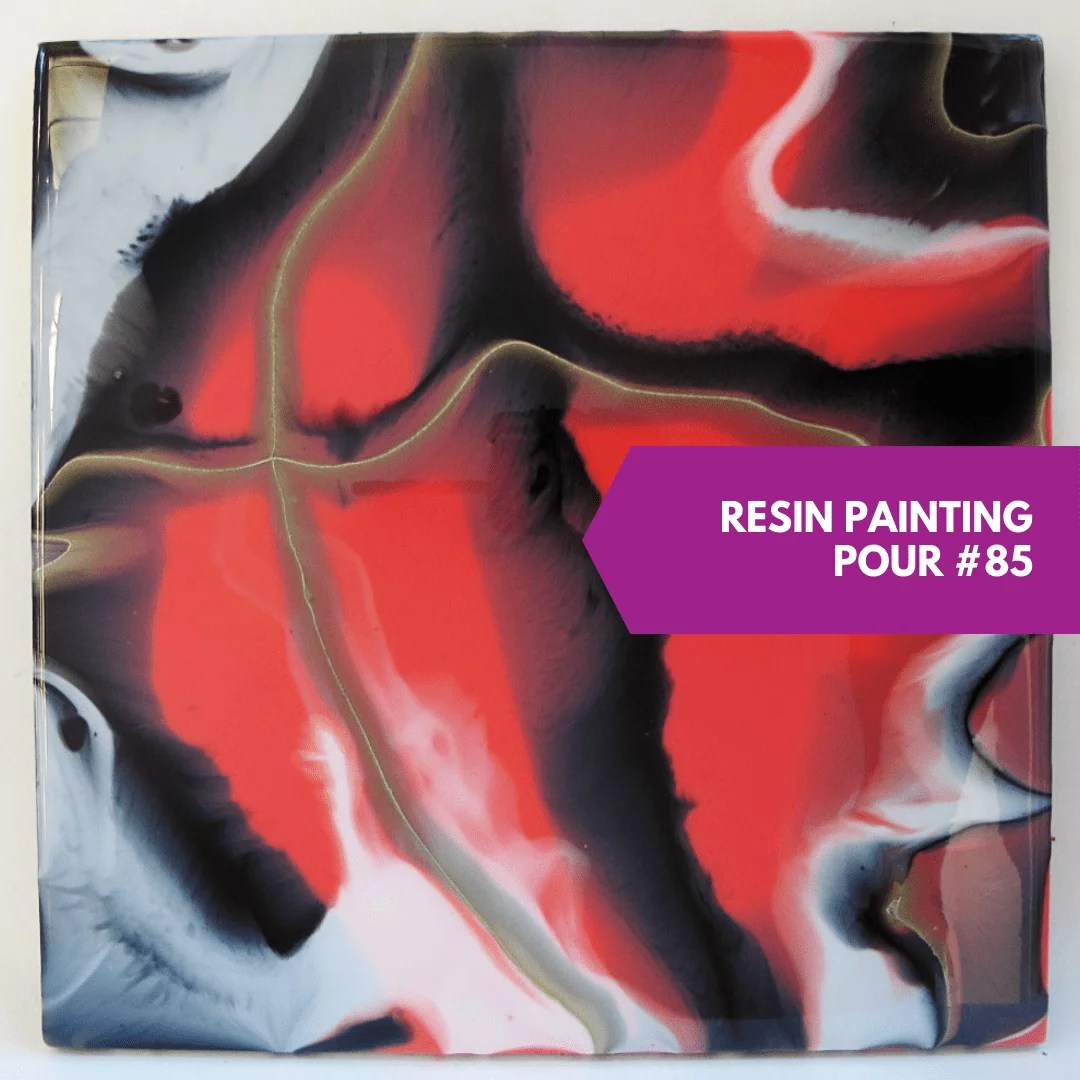 resin painting direct pour