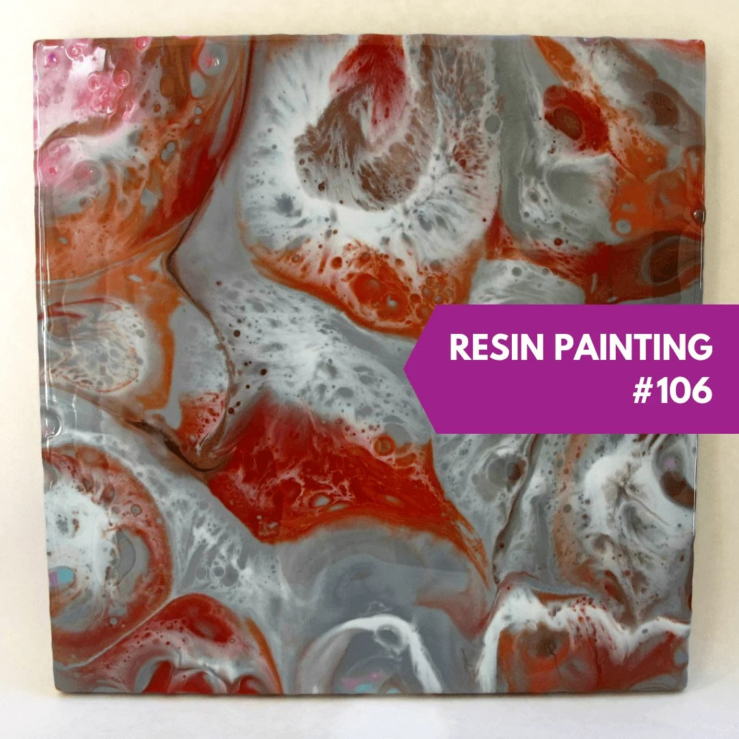 resin painting 106