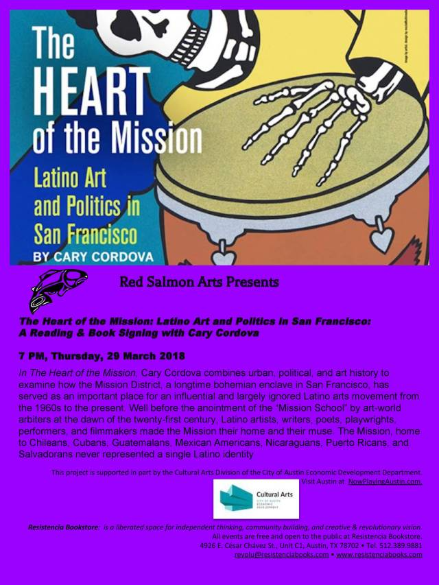 Flyer The Heart the Mission Reading 2018