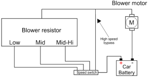 Blower resistor » Resistor Guide