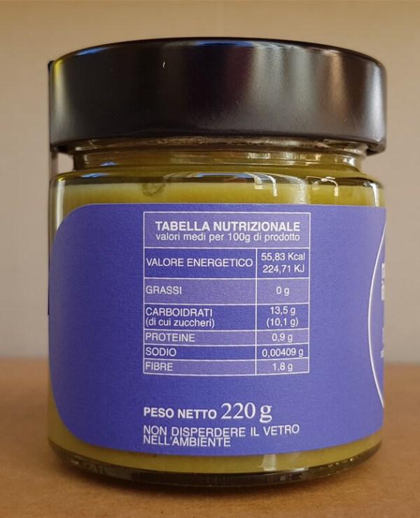 Salsa-rabarbaro-italiano-res-naturae-tabella-nutrizionale
