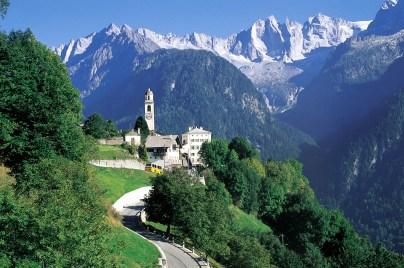 John Florio's hometown: Soglio