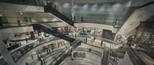 Photo d'un centre commercial
