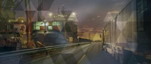 Illustration de différents moyens de transports