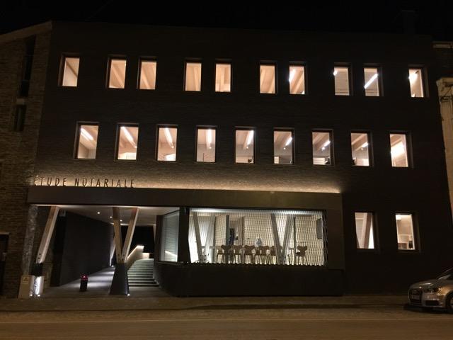 19 mars 2018 – Amélioration de l'acoustique d'une étude notariale à Bastogne