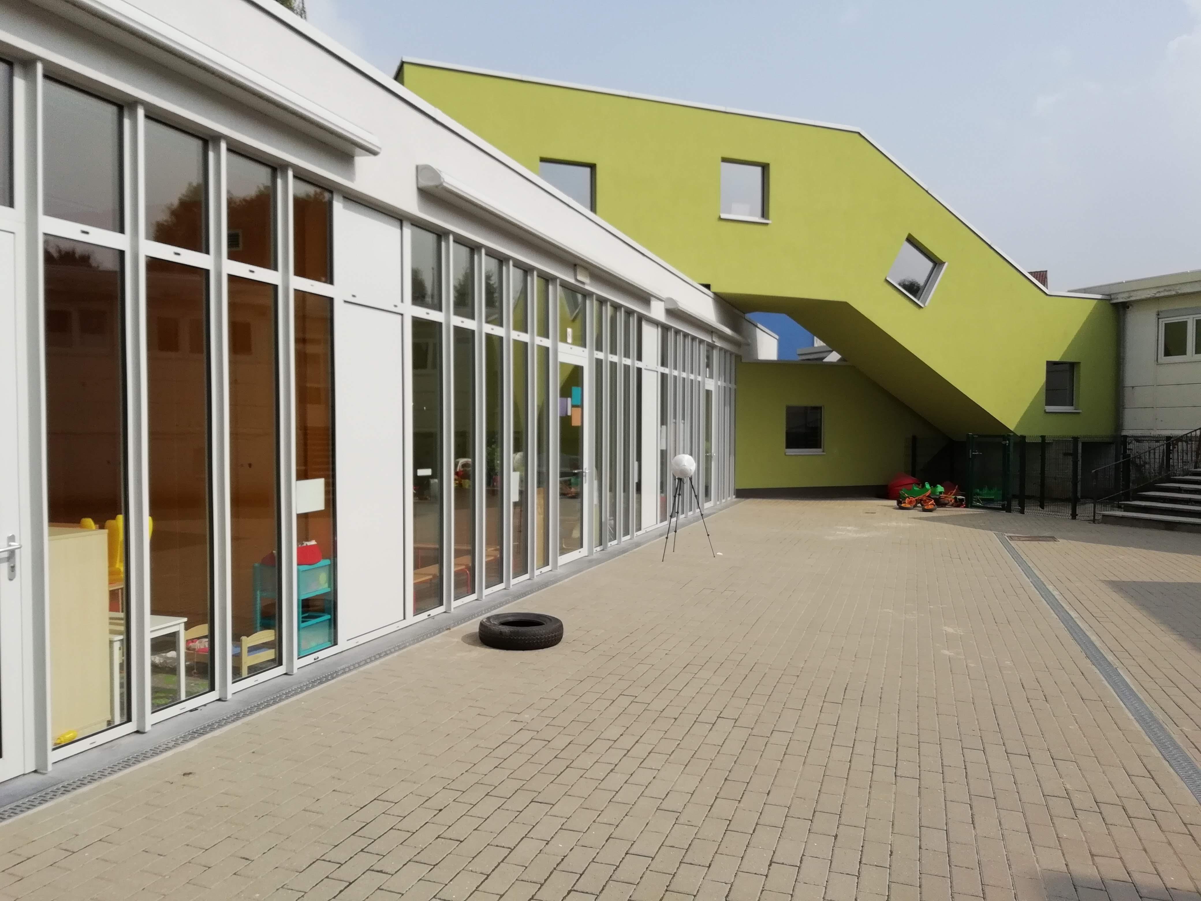 """11 septembre 2018 – Amélioration du confort acoustique de l'école maternelle """"Nos Bambins"""" à Ganshoren"""