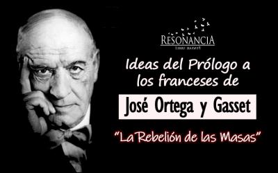 Prologo a los franceses Jose Ortega y Gasset