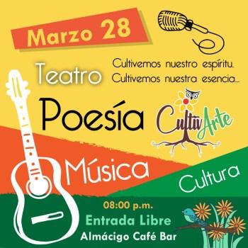 Cultivarte 300x300 - CultivARTE -> Evento 28 de Marzo (Almacigo Café Bar)