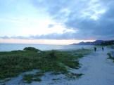 名護市 21世紀のビーチ~夕日 ②