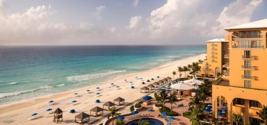 The Ritz Carlton Hotel Cancun