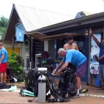 Why and how to hire past owners when buying a scuba dive business in tropics