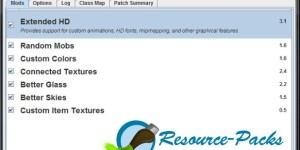 MCPatcher HD Resource Packs