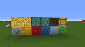 Ore blocks and Lamps