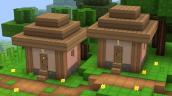 Tiny plain village