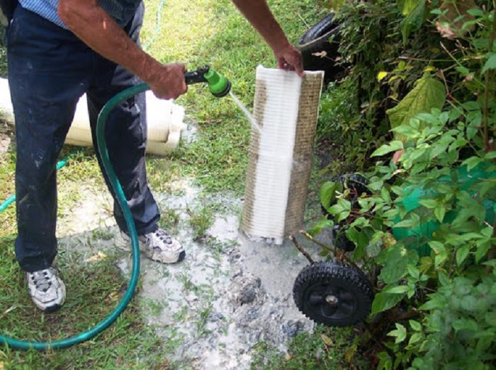 How to clean a DE pool filter