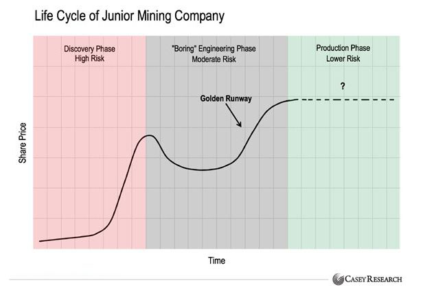 Life Cycle of a Junior Mining Company