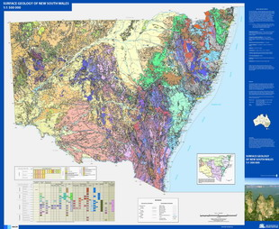 1 1 500 000 surface geology of New South Wales   NSW Resources and     Map name