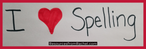 spelling-words-worksheets