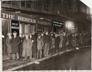 bread lines during the Great Recession