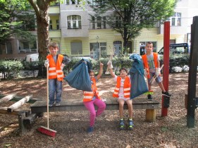 Cleaning up in Neukölln