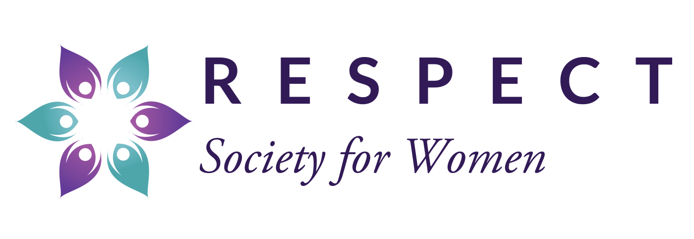 Respect Society for Women logo.