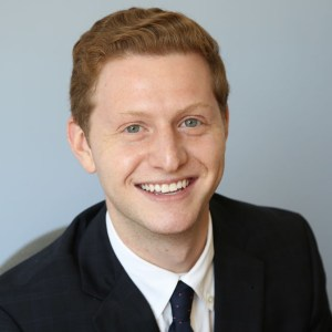headshot of Matt Lerner wearing a suit and tie color photo