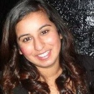 Deepna Anand smiling