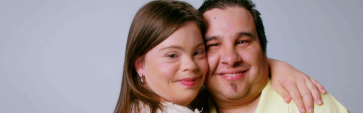 Cristina with fiance Angel