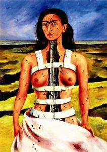 Image result for frida kahlo spinal painting