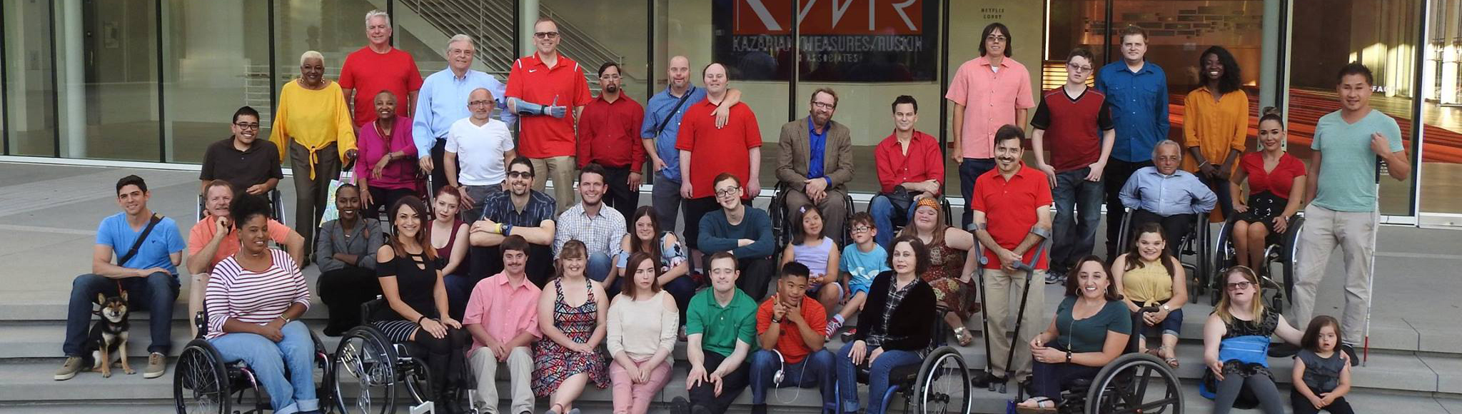 Performers with disabilities who are members of the KMR Diversity Department