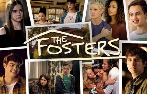 Images of the characters from The Fosters with the text: The Fosters