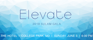 """Text reads """"Elevate 2018 Sulam Gala The Hotel 