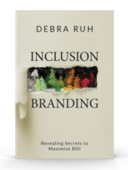 A book cover for Inclusion Branding Book