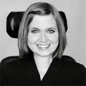 Lauren Halvorson smiling