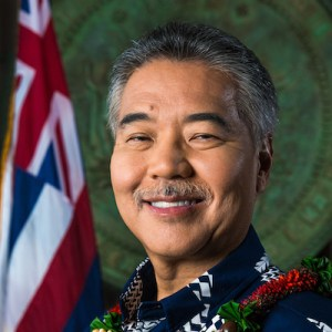 Gov. David Ige headshot