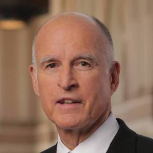 Gov. Jerry Brown headshot