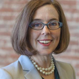Headshot of Governor Kate Brown