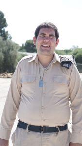 Cori Ashkenazy in uniform in Israel