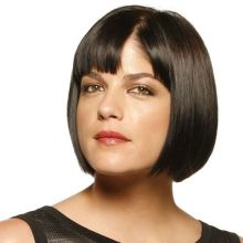 Selma Blair in front of a white background