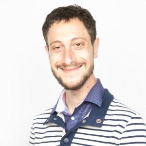 Aaron Silverman smiling headshot