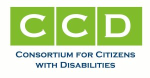 Logo for CCD: Consortium for Citizens with Disabilities
