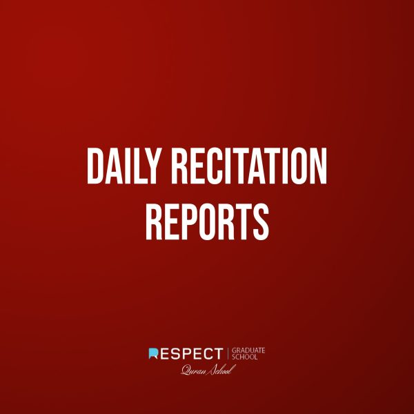 Daily Recitation Reports