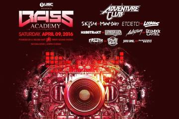 Bass Academy ft. Adventure Club Skism b2b Must Die! ETC!ETC! b2b Lookas Antiserum b2b Boombox Cartel Habstrakt b2b Lumberjvck Truth b2b Stylust Beats Just One b2b Subsonic Drops