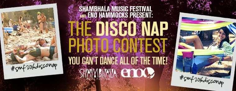 Win free tickets to shambhala 2016 via Disco Nap Giveaway