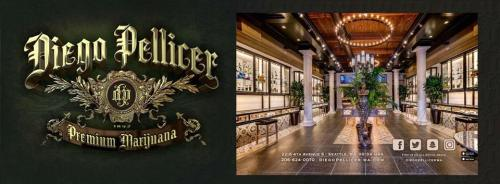 Diego Pellicer | Premium Marijuana located in Seattle, WA | Full Menu: http://rmr.me/2htKmuX