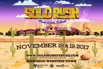 Phase One Lineup of Goldrush Festival Ft. Rezz, RL Grime, and Excision