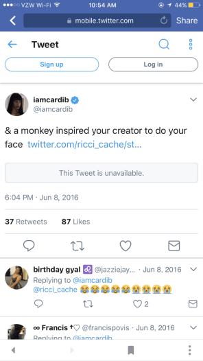 Cardi B Racism Thread