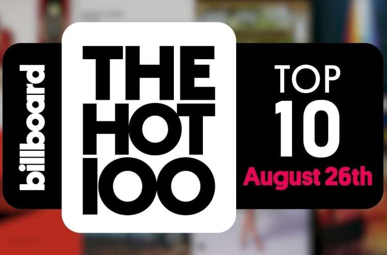 Billboard Hot 100 - August 26, 2017