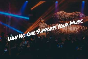 how to build a fanbase no one supports your music